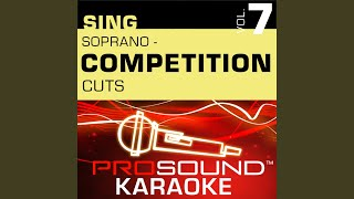 Make It Happen (Competition Cut) (Karaoke With Background Vocals) (In the Style of Mariah Carey)