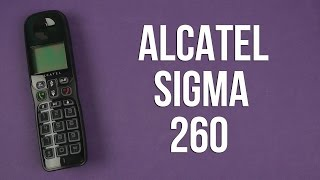 Распаковка Alcatel Sigma 260