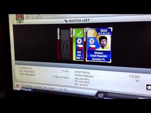 FIFA 13 ultimate team TOTS  Peter Cech for 250 coins !!!!!