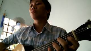 Chúa Chăn Nuôi Tôi - Duy Thiên - Hòa Văn Cover với Guitar