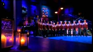 Michael Bublé Xmas Live : Home For Christmas Silent Night Live Choir Studio version.HQ