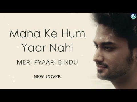 Maana Ke Hum Yaar Nahi - Meri Pyaari Bindu   Parineeti Chopra   New Cover   Lyrical Video