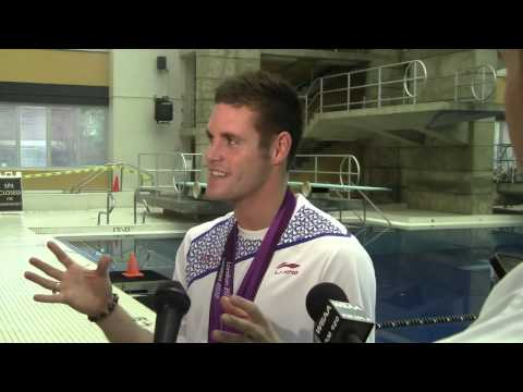 David Boudia Returns to Purdue [Uncut]