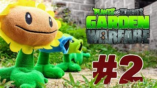 Рослини проти зомбі плюшеві іграшки: сад війни з атака зомбі 2 - Частина 2 | Історія іграшок МГО