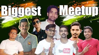 India's Biggest Meetup India Gate New Delhi Ft. I Tech, Sikhe all in Hindi and many more