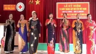 Quê em miền trung du - Tốp ca nữ CTD Vĩmh Xuân 2016