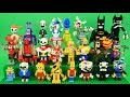 Custom LEGO Action Figures| FNAF, Simpsons, Undertale, BATIM, Cuphead, Hell Boy, Batman