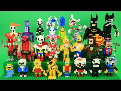 How To Build Lego Simpsons Family Doovi