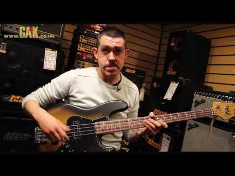 Fender - Modern Player Jazz Bass Satin Demo at GAK