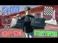 SHOPPING FOR EXPENSIVE STREETWEAR CLOTHING! (Off-White, Yeezy, Givenchy)