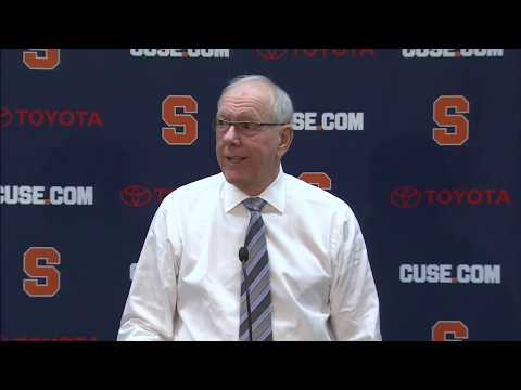 Jim Boeheim vs Louisville Postgame