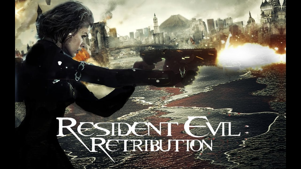how to put resident evil from laptop on tv