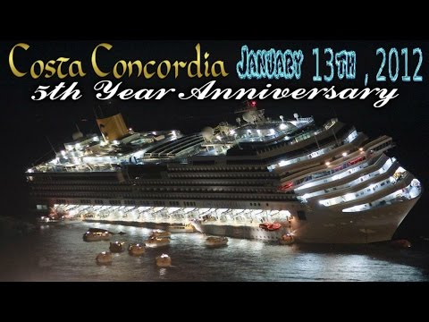 5 YEAR ANNIVERSARY | TERROR At Sea Sinking of The Concordia