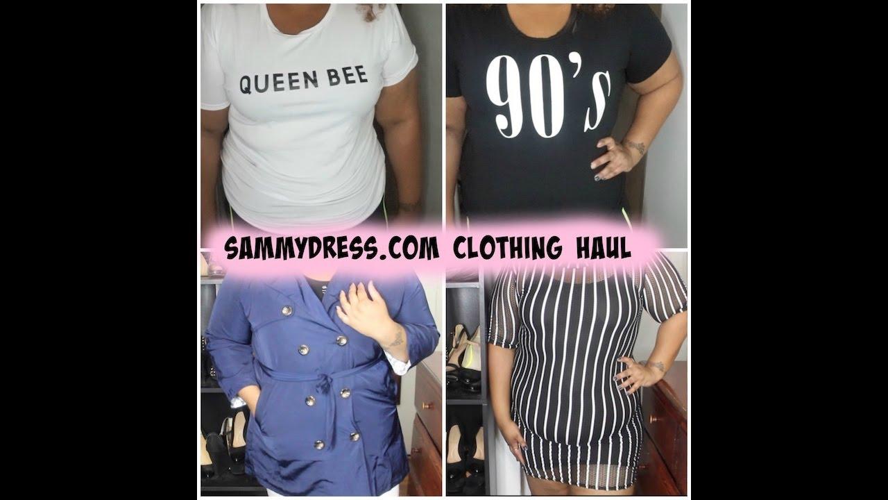 sammy dress honest review | plus size clothing haul - youtube