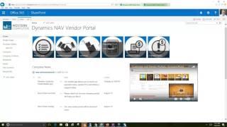 Self-Service Vendor for Dynamics NAV: Part 1 Vendor Portal Demo
