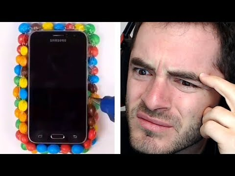 How To Make An M&M's Phone Case (DiWHY #2)