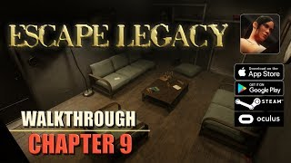 Escape Legacy Chapter 9 Walkthrough Ancient Scrolls Level 9 iOS/Android/PC/Oculus/Cardboard 3D VR HD