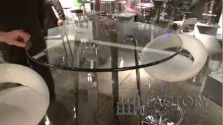 Zuo Lemon Drop Bar Table - Factoryestores.com