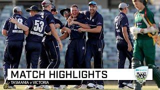 Highlights: Tasmania v Victoria, Marsh One-Day Cup 2019