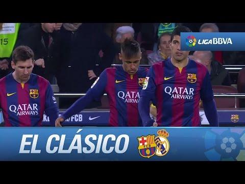 La 'MSN' en El Clásico: conexión Messi, Suárez, Neymar
