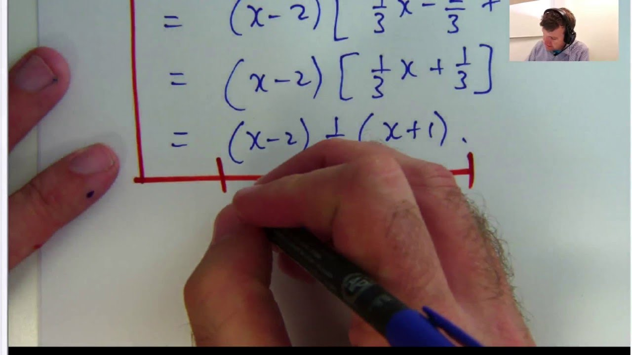 How To Solve Inequalities: Dr Chris Tisdell Live Stream