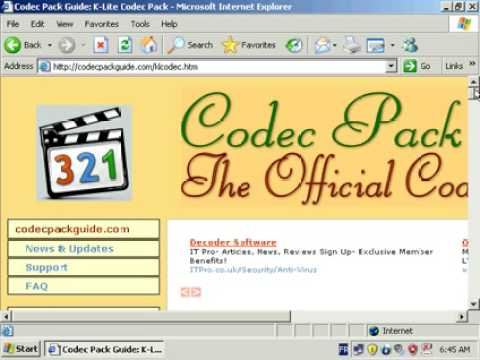 Play any video format: DivX, Xvid, MPEG-4, H.264 ...