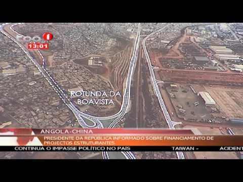 Luanda: Novos projectos rodoviários em Luanda com financiamento da China