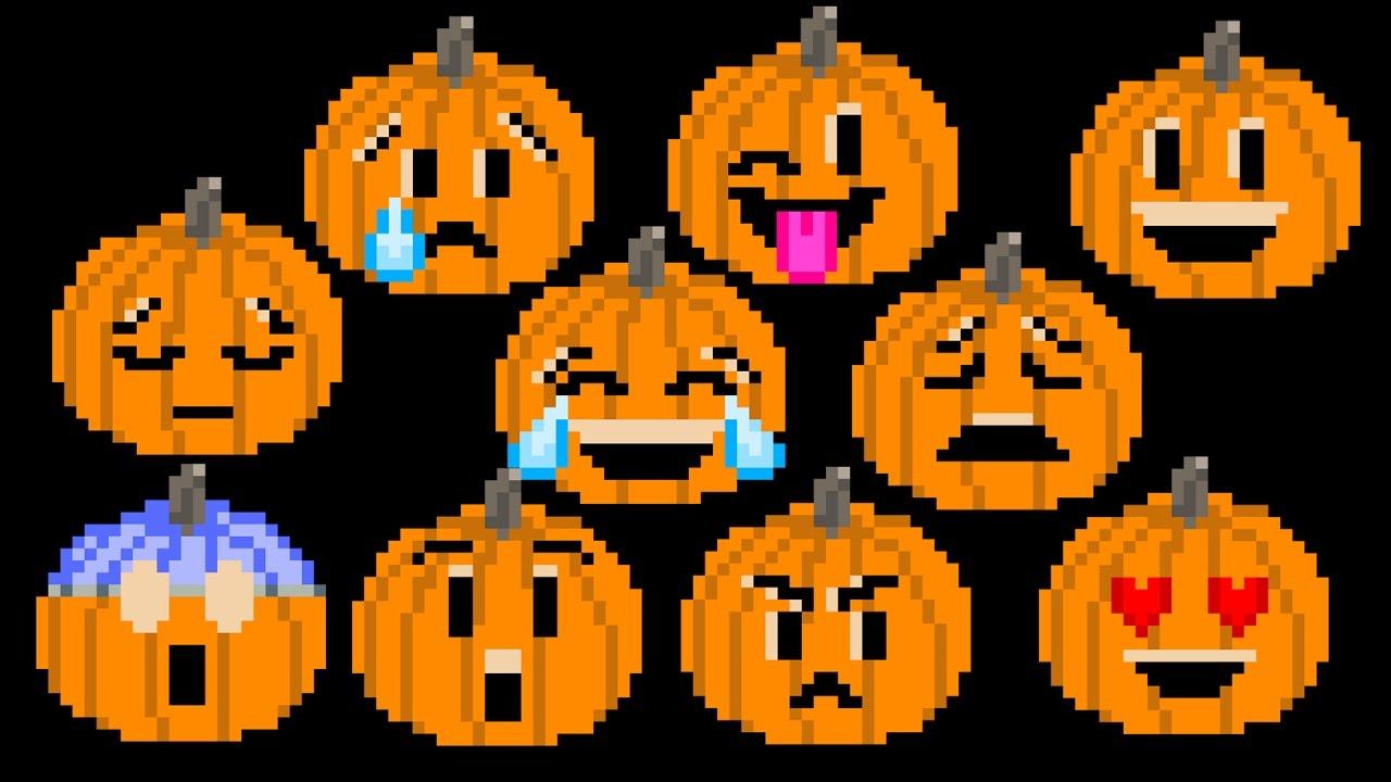 Pumpkin Emojis - Halloween Jack-O'-Lantern Emoji - The Kids ...