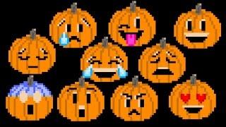 Pumpkin Emojis - Halloween Jack-O