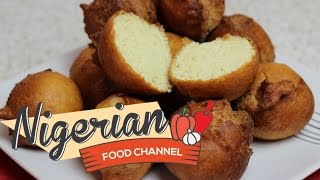 HOW TO MAKE NIGERIAN BUNS | Nigerian Food Channel