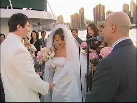 Wedding On Boat Nyc Videographer Photographer 080808 Youtube