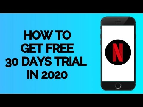 how to get 30 days free trial on netflix