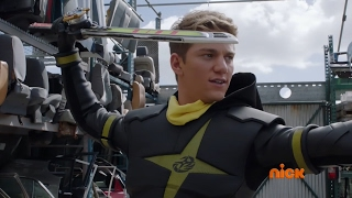 "vuclip Power Rangers Ninja Steel - Training Gear and Element Star | Episode 3 ""Live and Learn"""