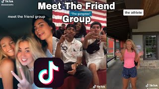 Meet The Friend Group TikTok Compilation || I'm Tanner, Secat, Giggles, Rascal, Keke, Brady