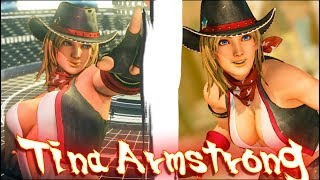 Street Fighter V PC AE mods - Tina (Dead or Alive) by TiggieWhite