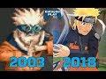 EVOLUÇÃO DOS GAMES DO NARUTO 2003/2018 - COMPARAÇÃO