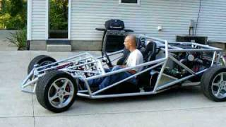 Ariel Atom Inspired V-8 Project Car - First Test Drive!