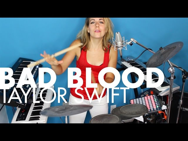 Bad Blood - Taylor Swift (One-Gal Band cover)