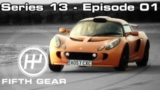 Fifth Gear: Series 13 Episode 01