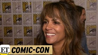 EXCLUSIVE: Halle Berry Jokes She's 'a Little Drunk' After Chugging Bourbon at SDCC 'Kingsman' Panel