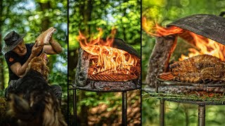 ? SIMPLY THE BEST PORK BELLY! - CRISPY ASMR IN THE FOREST?