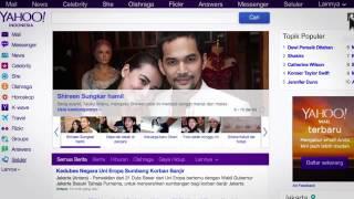 Yahoo Indonesia kini dengan tampilan  baru