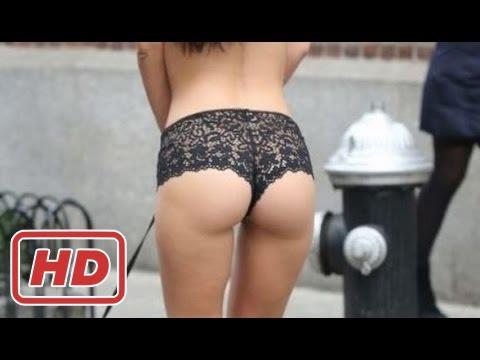 Emily Ratajkowski Hot Strip Show Lingerie On NYC Street thumbnail