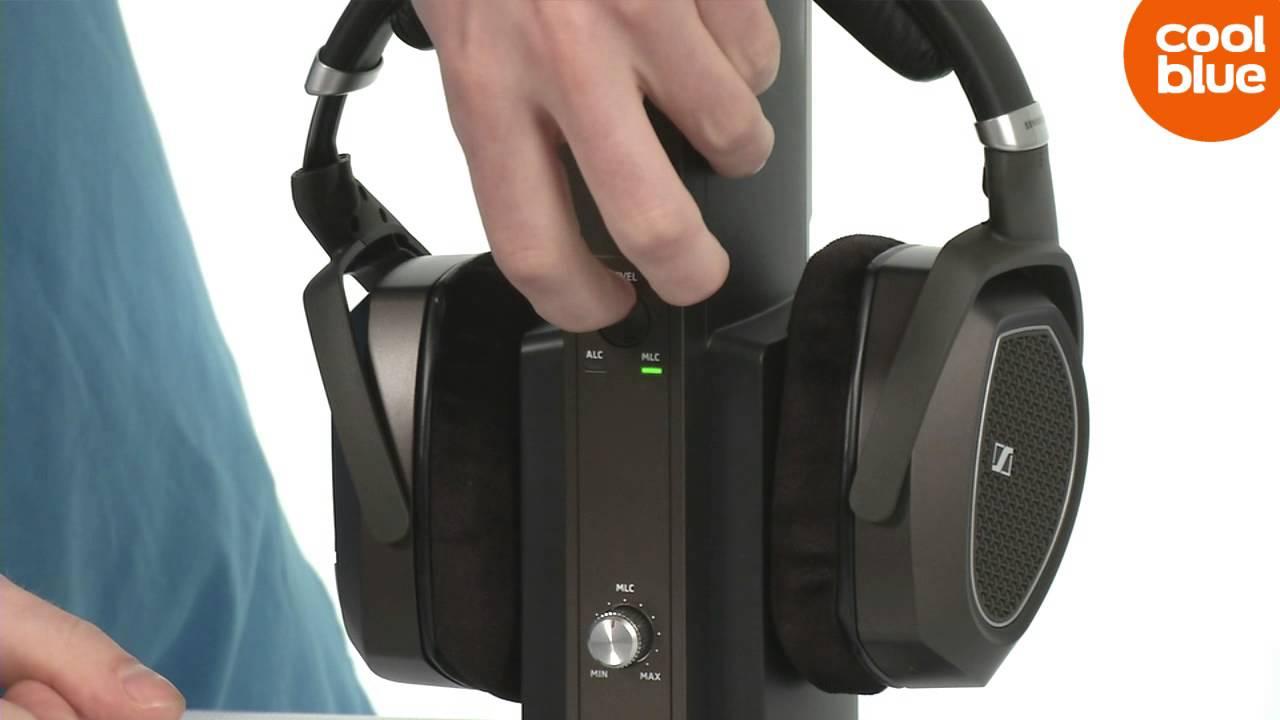 Sennheiser Rs 185 Draadloze Hoofdtelefoon Productvideo Nlbe Youtube