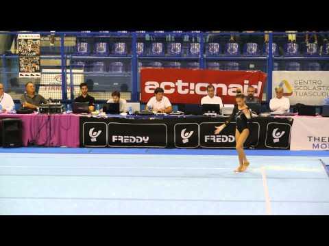 Asia Pandolfo Golden League 2014 Corpo Libero