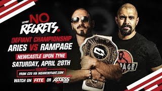 Rampage Challenges Austin Aries At No Regrets PPV (Newcastle, April 28)