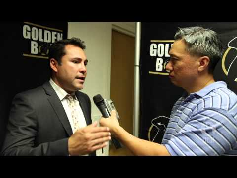 UCN EXCLUSIVE INTERVIEW - Oscar De La Hoya