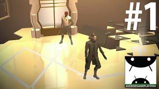 Deus Ex GO Android GamePlay #1 [60FPS/1080p]