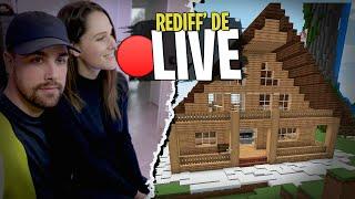 On construit le Chalet des Croûtons au Canada sur Minecraft avec Pidi !