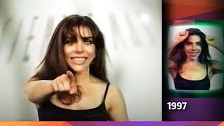 Verónica Castro en Bumpers de Canal 9 - Argentina - 1997